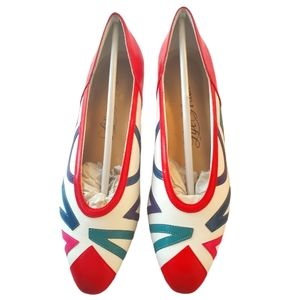 New In Box Vintage Life Stride Jigsaw Pumps